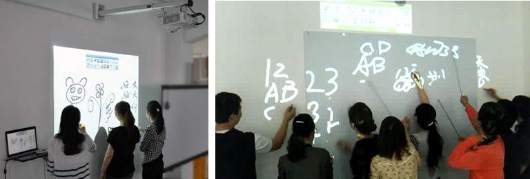 Multi-writing Interactive Projector